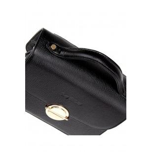 Genuine Leather Black Women's Handbag