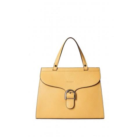 Women's Eliza Yellow Shoulder Bag