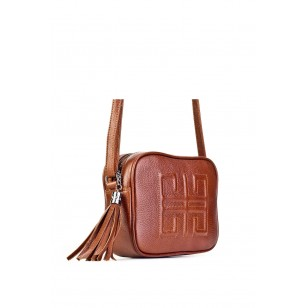 Genuine Leather Taba Women's Shoulder Bag