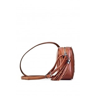 Genuine Leather Taba Women's Shoulder Bag